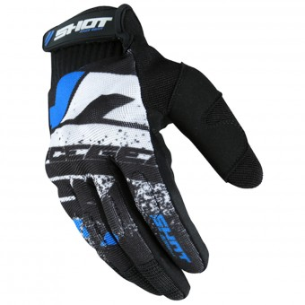 Cross Handschuhe SHOT Drift Blue CE