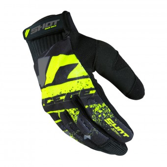 Cross Handschuhe SHOT Drift Neon Yellow CE