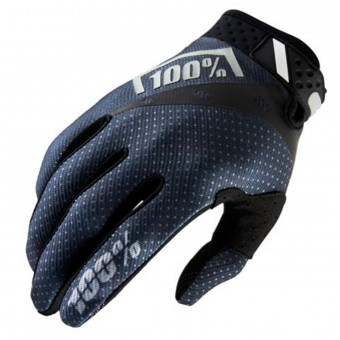 Cross Handschuhe 100% Ridefit Black