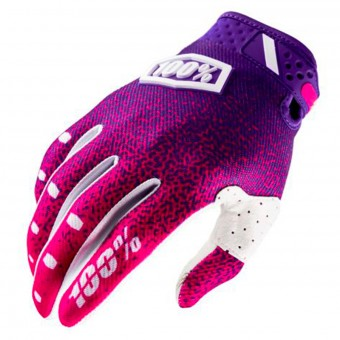 Cross Handschuhe 100% Ridefit Pink Purple