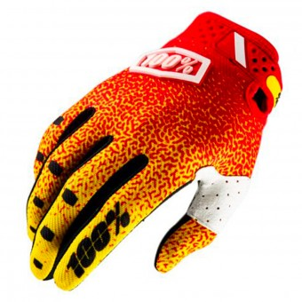 Cross Handschuhe 100% Ridefit Red Yellow
