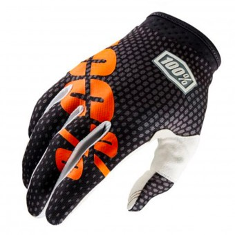Cross Handschuhe 100% Itrack Charcoal