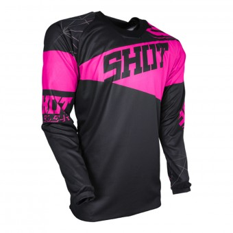 Cross Trikot SHOT Contact Infinite Neon Pink