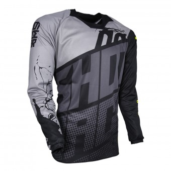 Cross Trikot SHOT Contact Venom Grey Black
