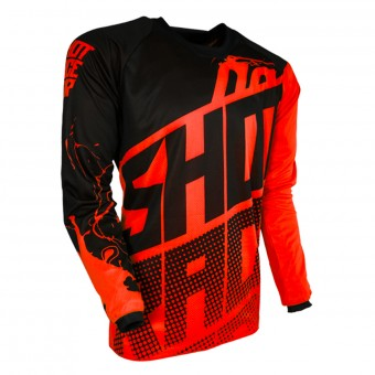 Cross Trikot SHOT Contact Venom Neon Orange