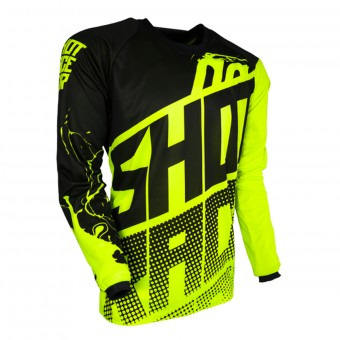 Cross Trikot SHOT Contact Venom Neon Yellow