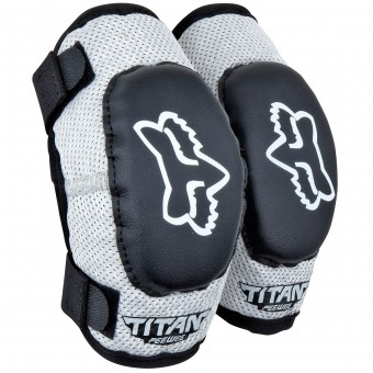 Cross Ellbogenprotektoren FOX Titan Elbow Enfant Black Silver