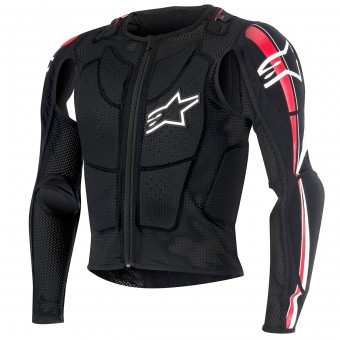 Cross Weste Alpinestars Bionic Plus Black Red