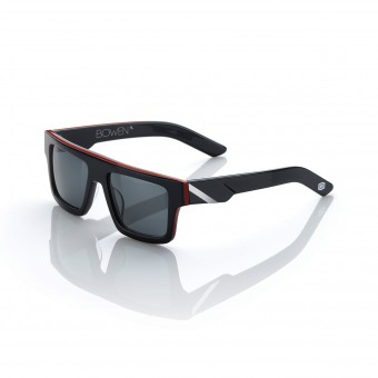 Motorradbrillen  100% Bowen Black Red