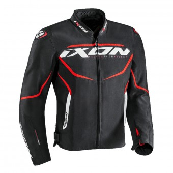 Motorradjacke Ixon Sprinter Black Red