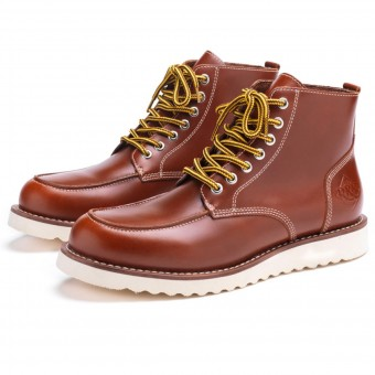 Motorradschuhe Ride & Sons Desert Moc Mid Boot Brown
