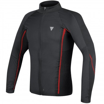 Kaltwetter-Unterziehtop Dainese D-Core No-Wind Thermo Tee Black Red