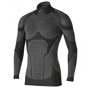 Kaltwetter-Unterziehtop Alpinestars Ride Tech Top LS Winter Black Grey