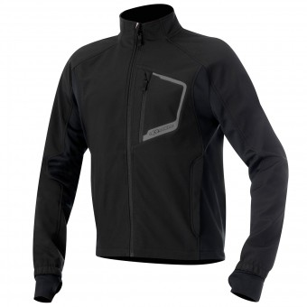 Kaltwetter-Unterziehtop Alpinestars Tech Layer Top Black