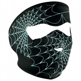 Schutzmaske Zanheadgear Spiderweb Glow In The Dark