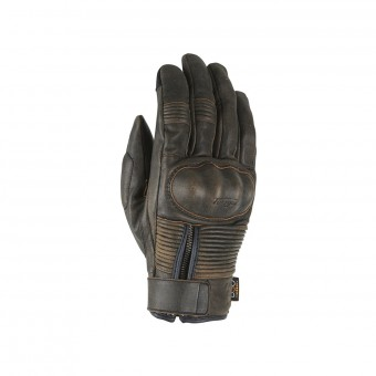 Motorradhandschuhe Furygan James D3O All Season Brown Rusted