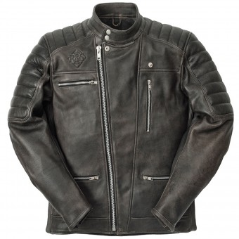 Motorradjacke Ride & Sons Empire Used Black