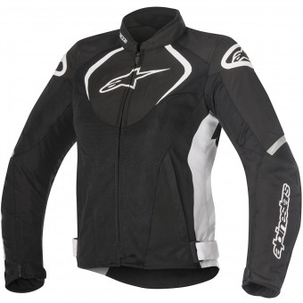 Motorradjacke Alpinestars Stella T-Jaws V2 Air Black White