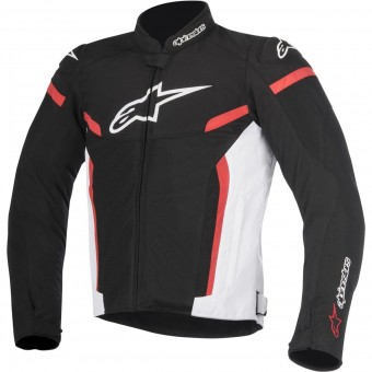 Motorradjacke Alpinestars T-GP Plus R V2 Air Black White Red