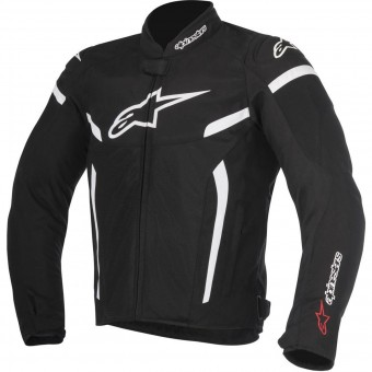 Motorradjacke Alpinestars T-GP Plus R V2 Air Black White