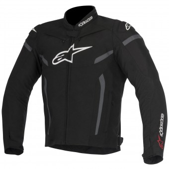 Motorradjacke Alpinestars T-GP Plus R V2 Black Anthracite