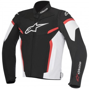Motorradjacke Alpinestars T-GP Plus R V2 Black White Red