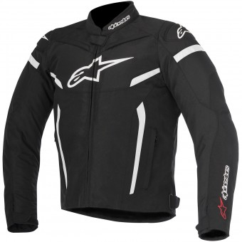 Motorradjacke Alpinestars T-GP Plus R V2 Black White