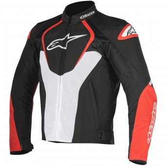 Motorradjacke Alpinestars T-Jaws V2 Air Black White Red