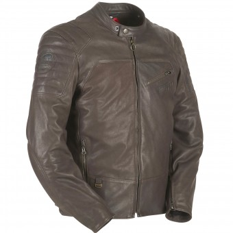 Motorradjacke Furygan Brody Brown