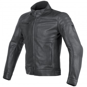 Motorradjacke Dainese Bryan Leather Black