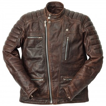 Motorradjacke Ride & Sons Empire Used Brown