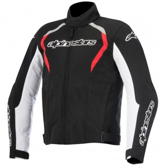 Motorradjacke Alpinestars Fastback WP Black White Red