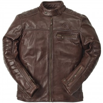 Motorradjacke Ride & Sons Getaway Cow Skin Brown