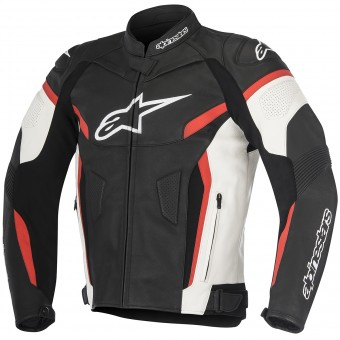 Motorradjacke Alpinestars GP Plus R V2 Black White Red