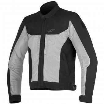 Motorradjacke Alpinestars Luc Air Black Light Gray