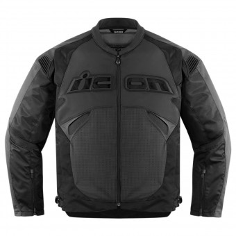 Motorradjacke ICON Sanctuary Jacket Stealth