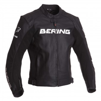 Motorradjacke Bering Sawyer Black White