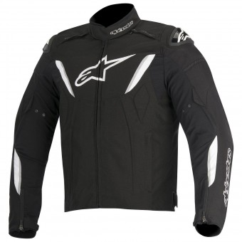 Motorradjacke Alpinestars T-GP R Waterproof Black White