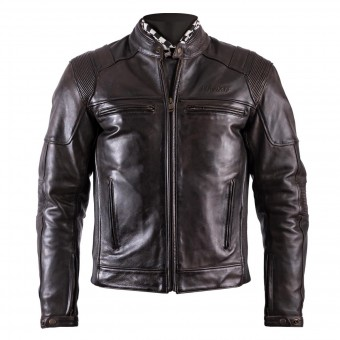 Motorradjacke Helstons Trust Leather Dirty Brown