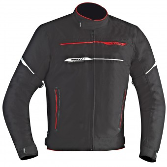 Motorradjacke Ixon Zetec HP Black Red