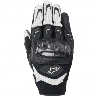 Motorradhandschuhe Alpinestars SMX-2 Air Carbon Black White