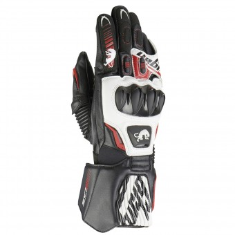 Motorradhandschuhe Furygan Fit R2 Black White Red