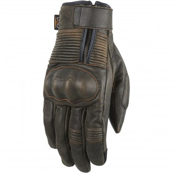 Motorradhandschuhe Furygan James Rusted D3O Brown