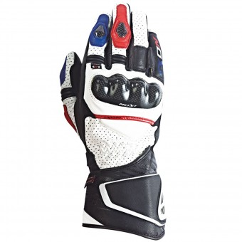 Motorradhandschuhe Ixon Rs Circuit Hp Black White Red Blue