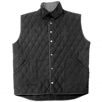 ärmellose Motorradweste Ride & Sons Thermal Vest Black