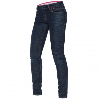 Motorradhose Dainese Belleville Slim Lady 3D Washed
