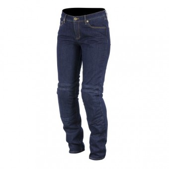 Motorradhose Alpinestars Kerry Tech Denim Blau
