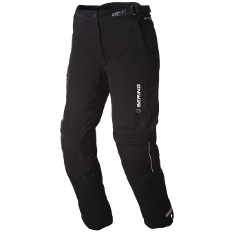 Motorradhose Bering Lady Safari Black White Pant