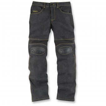 Motorradhose ICON Overlord Riding Pant Dark Indigo