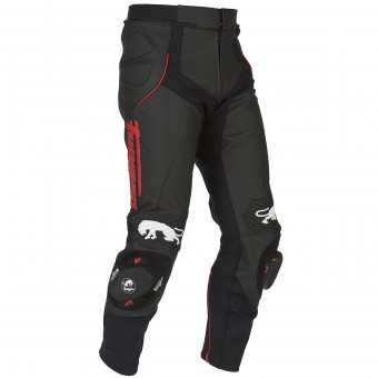 Motorradhose Furygan Raptor Black Red Pant